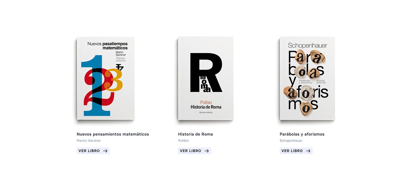 Alianza editorial autor book books color design editorial libros resposive Web