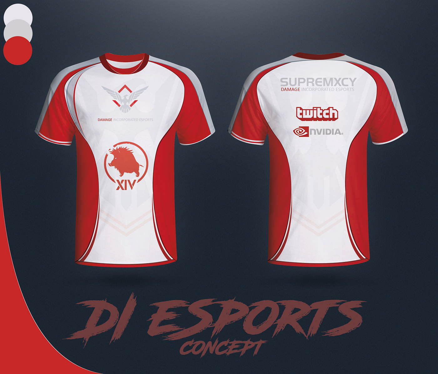 First ever eSports Jersey Concept - Off Topic Discussion
