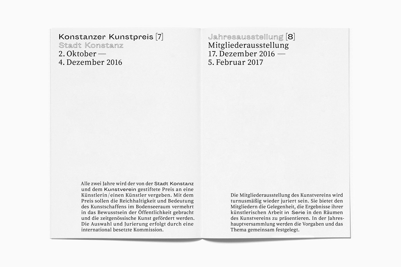 Kunstverein Konstanz on Behance