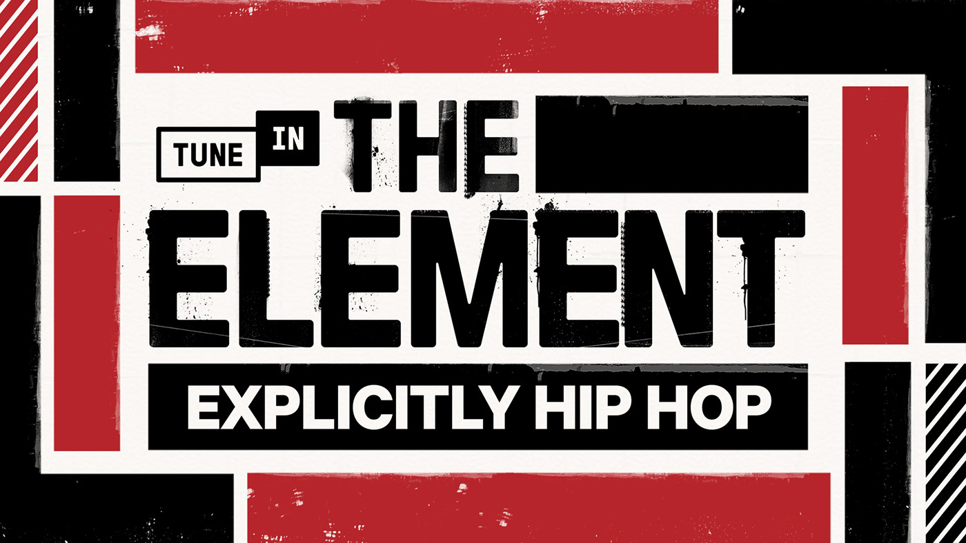Identity system for hip hip station The Element