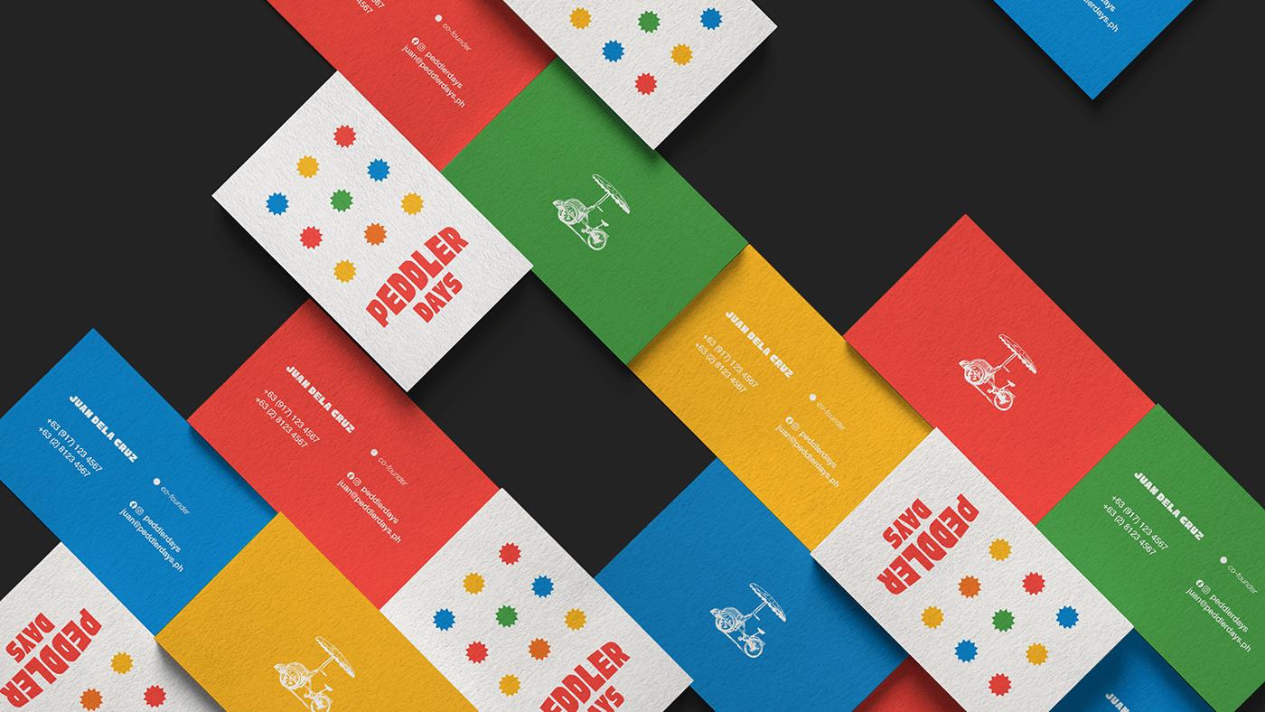 Disjointed Work Brand Design branding  collateral design filipino Food  Logo Design menu Sticker Design visual identity