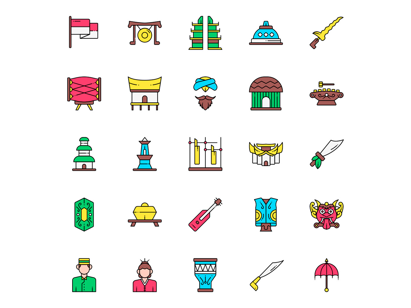 freebie icon design  icons download icons pack icons set indonesia indonesia icon  Indonesia Vector vector design vector icon