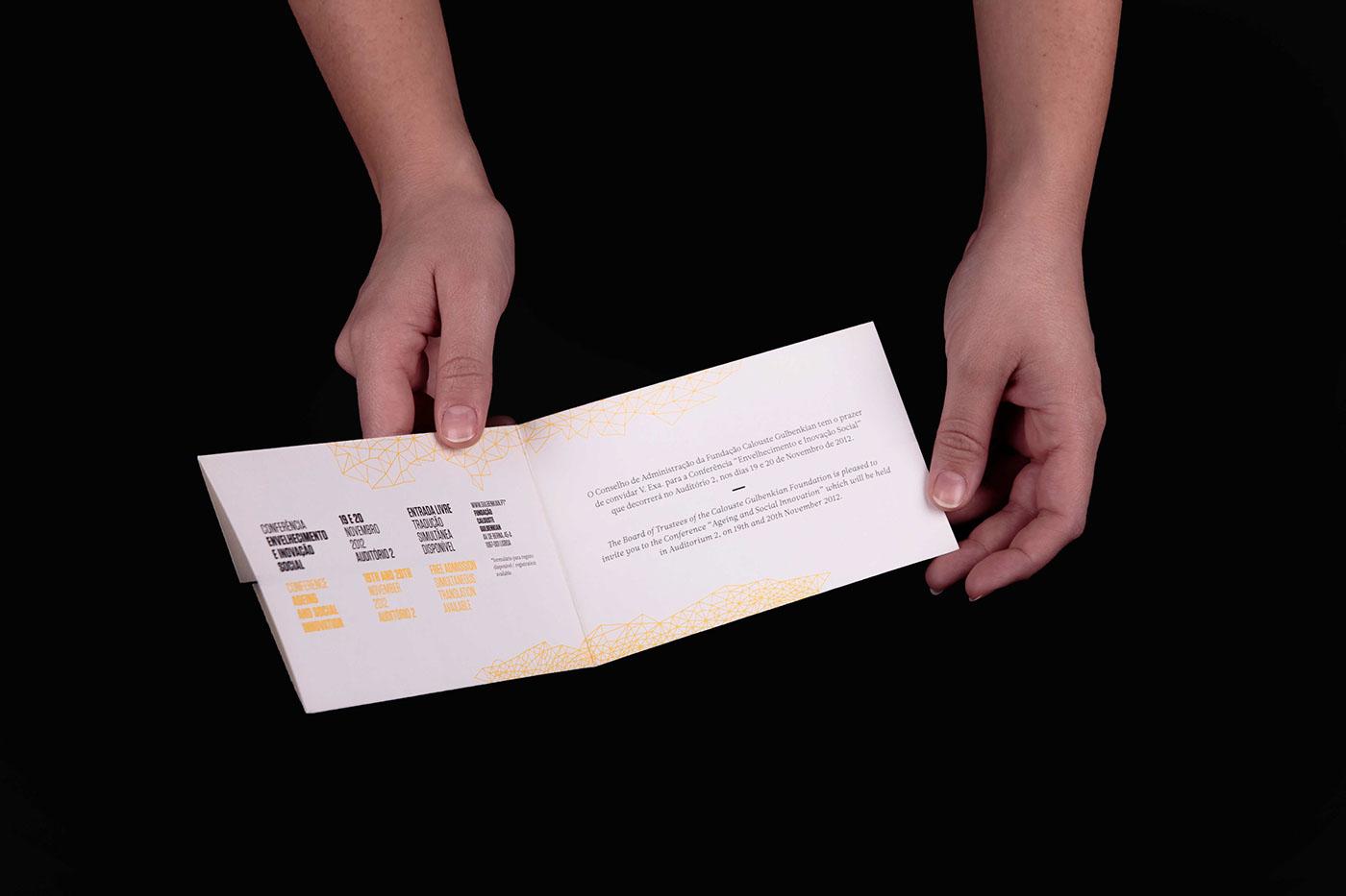 identity poster Invitation Event Design Corporate Identity