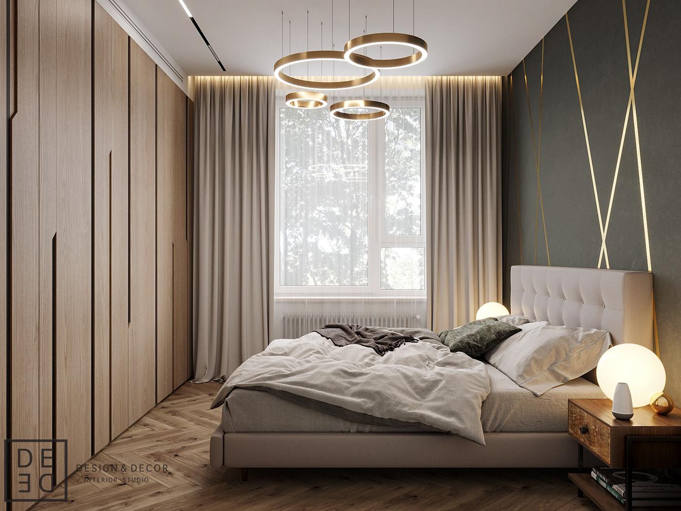 Interior architecture interiordesign Minimalism modern DE&DE Interior Studio corona render  3dsmax