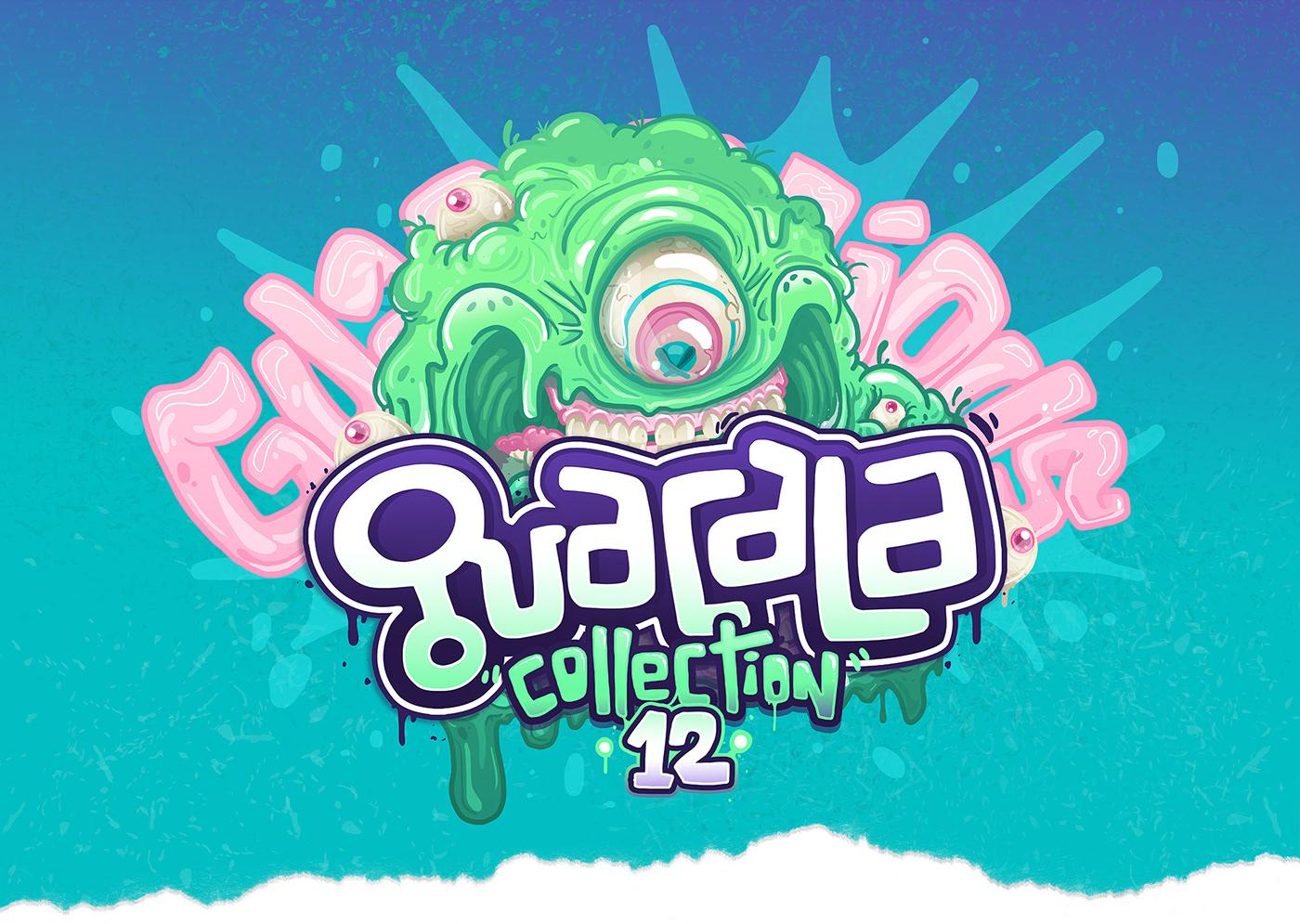 Behance Cali Character colombia design guacala guacalastudio ILLUSTRATION  photoshop poster