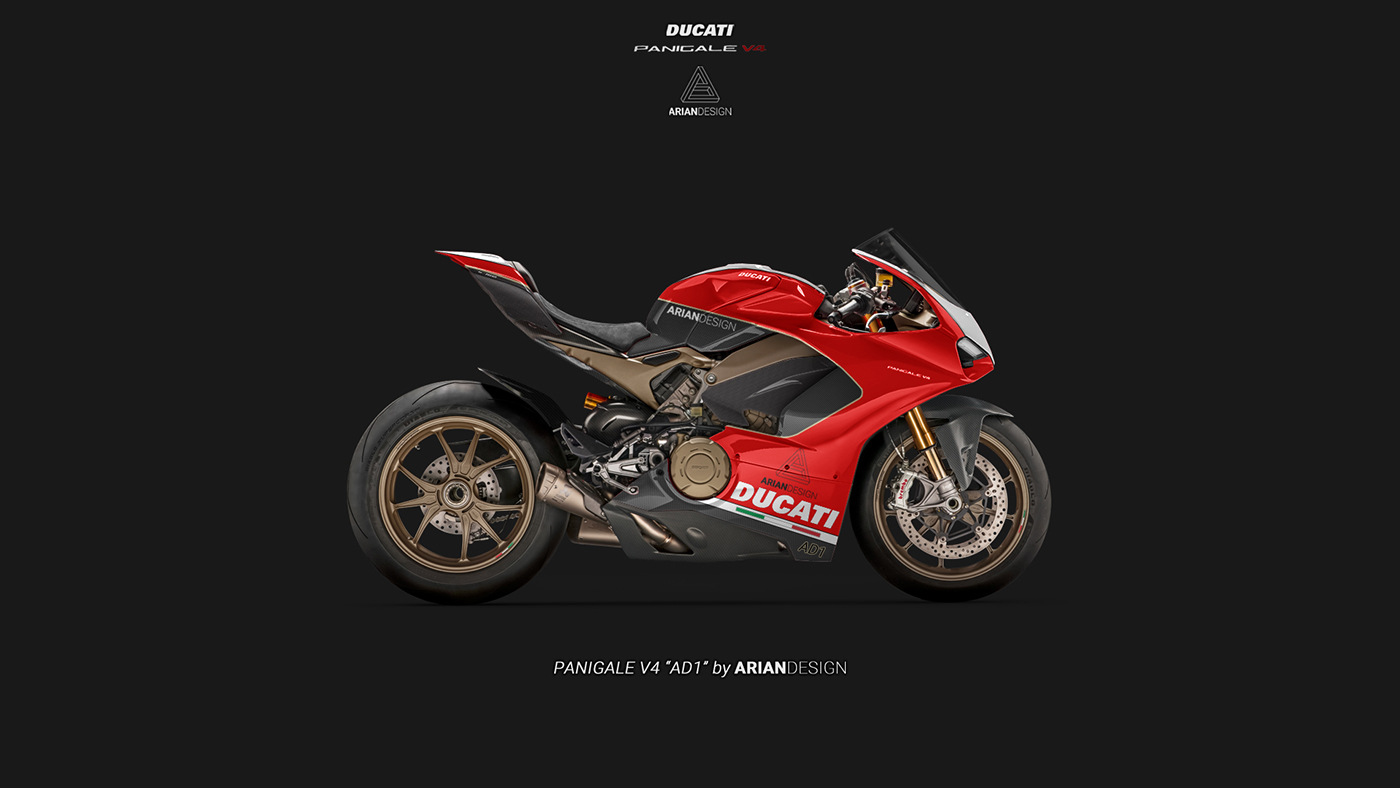 Ducati Panigale V4 Livery Quot Ad1 Quot On Behance