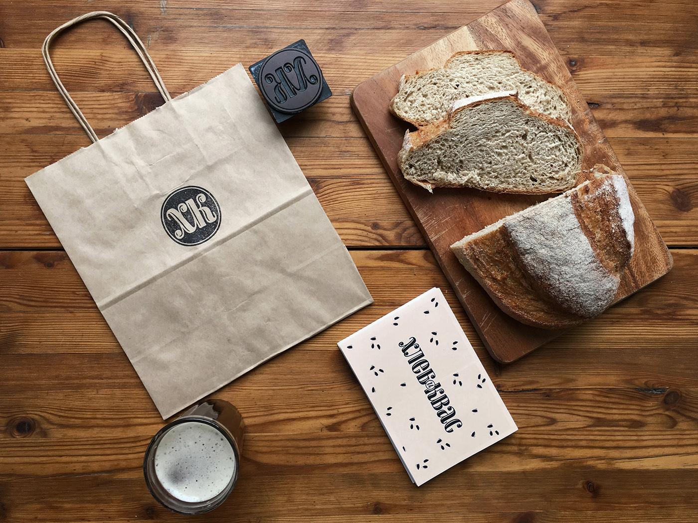 bakery stamp bread tasty