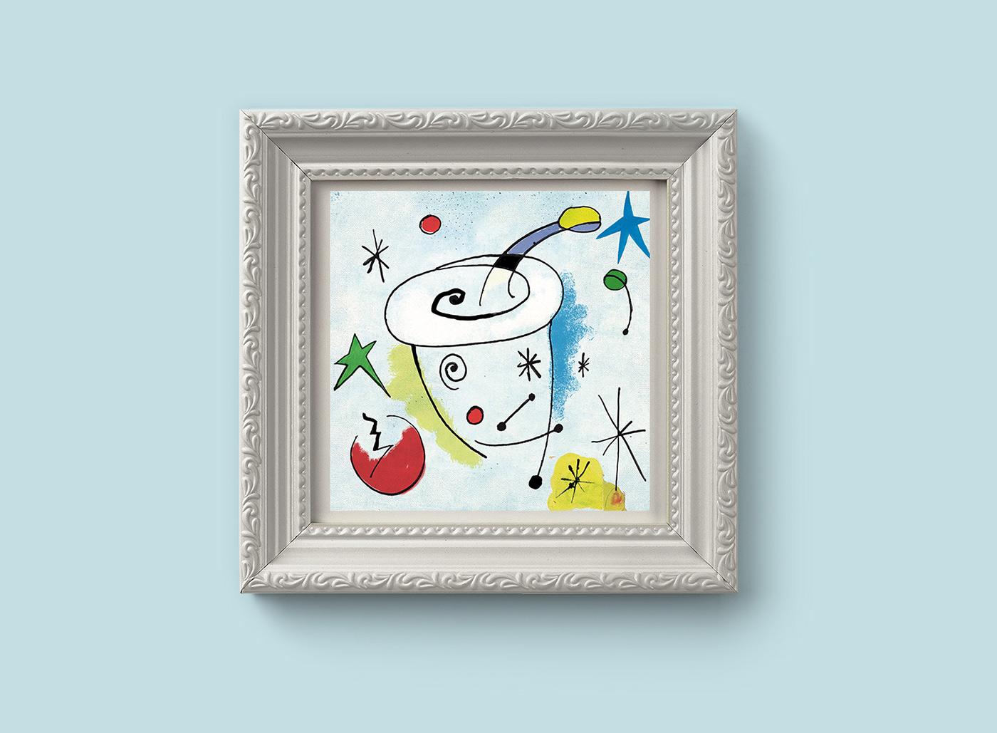 calendario yogurt arte