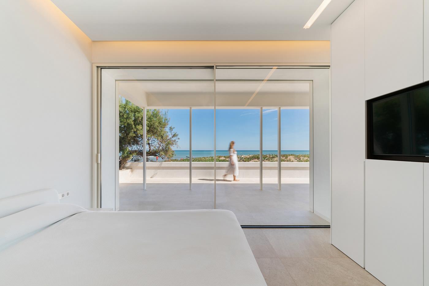 architect architecture Beach house building design dune minimal modern Photography  spain