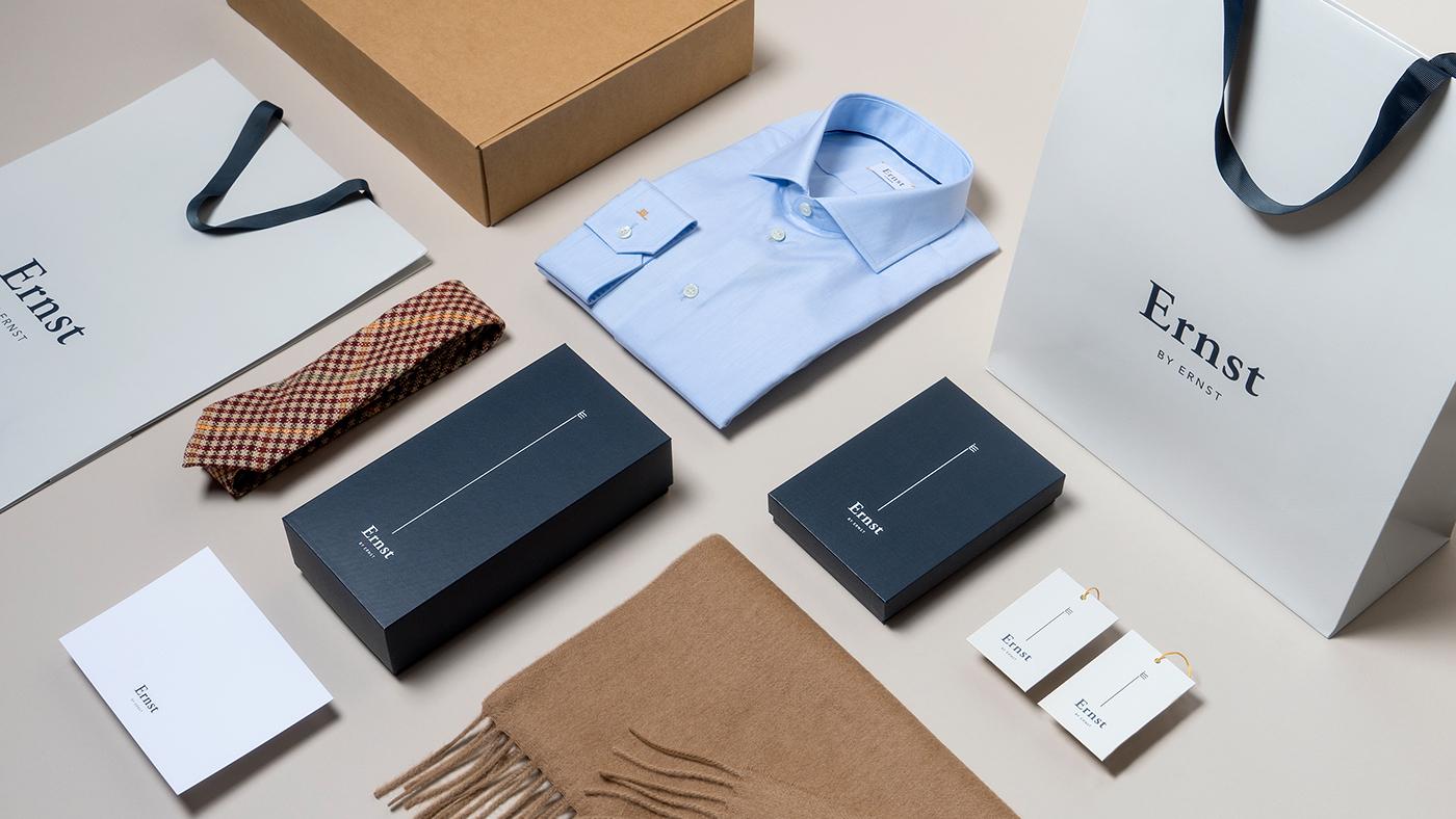 Menswear Fashion  Retail Minimalism Clothing Packaging Ecommerce