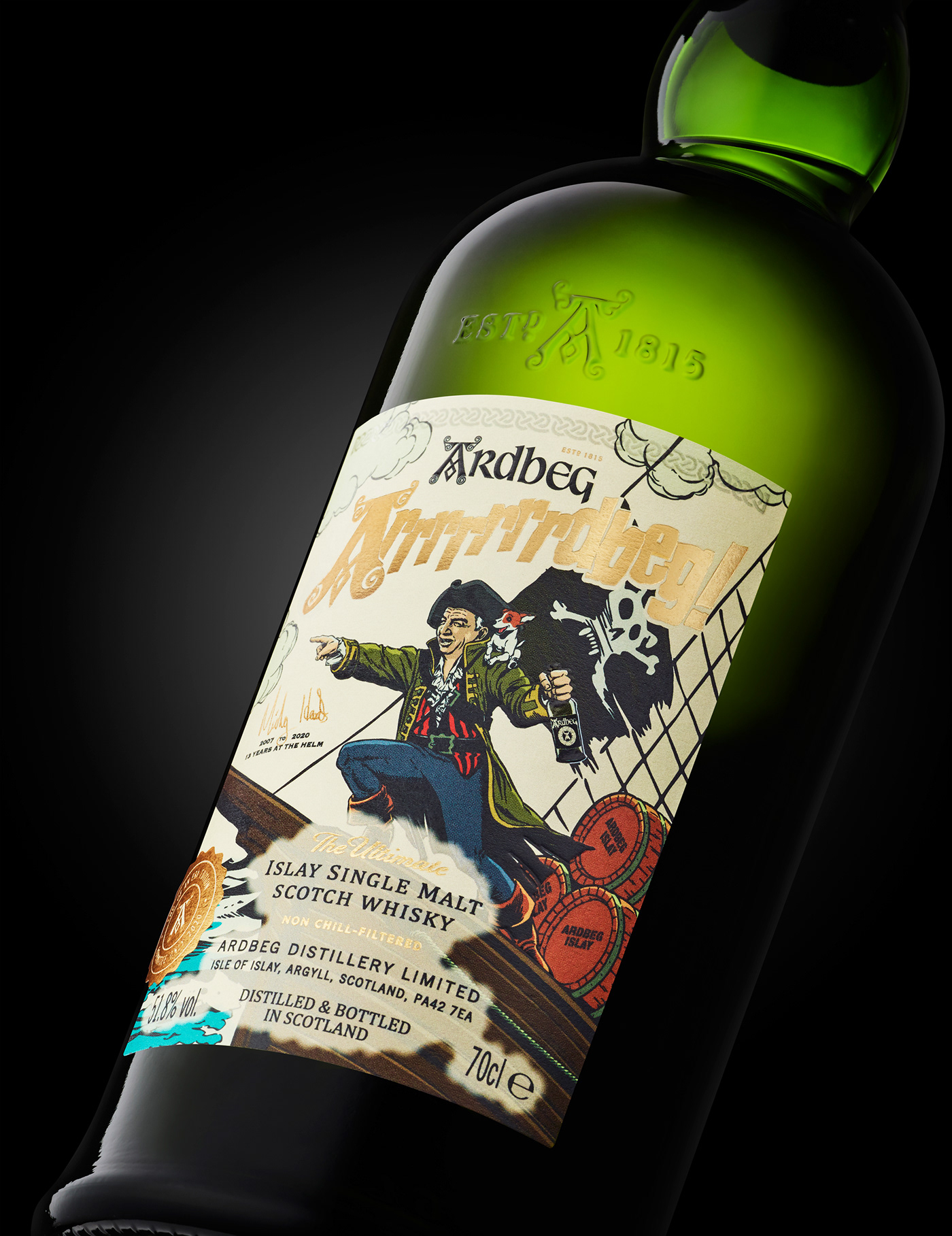 Ardbeg edinburgh limited edition pirates scotch Whisky