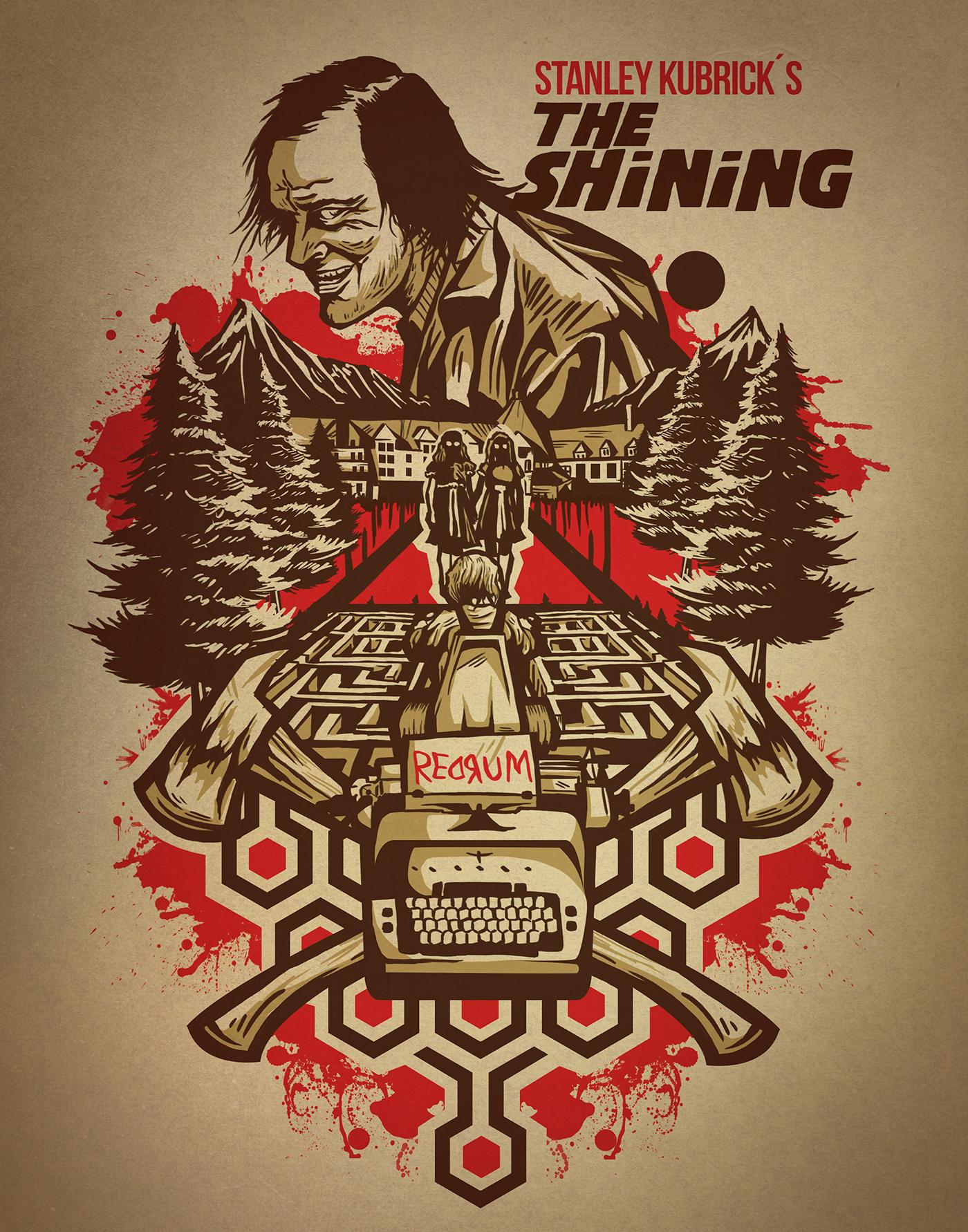 The Shining fan art on Behance