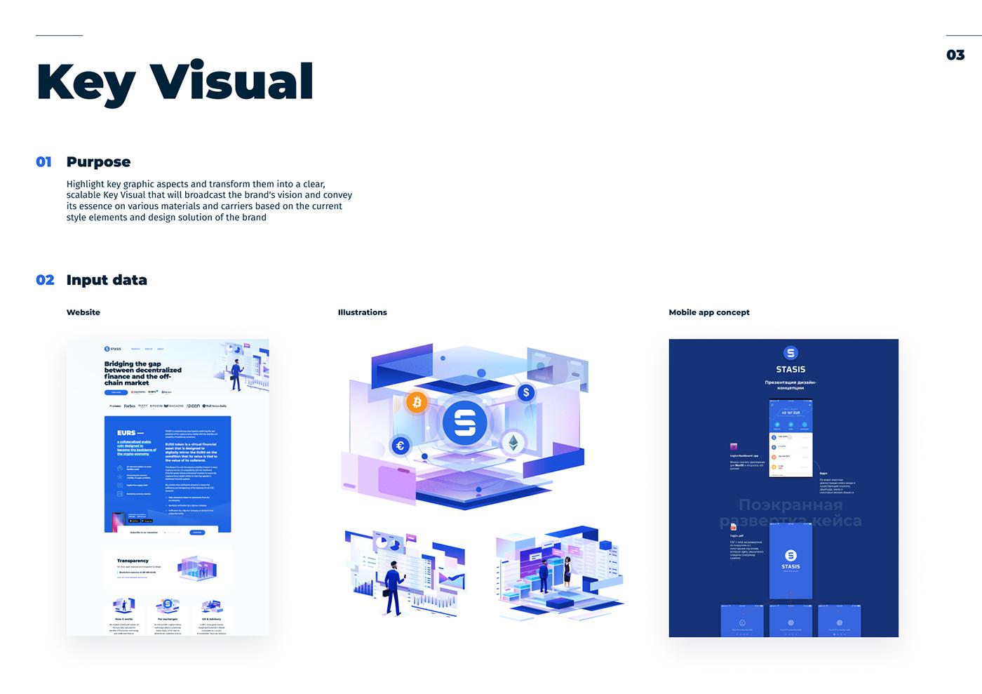 Stasis blockchain branding  brand book Corporate Identity identity bitcoin cryptocurrency logo brand