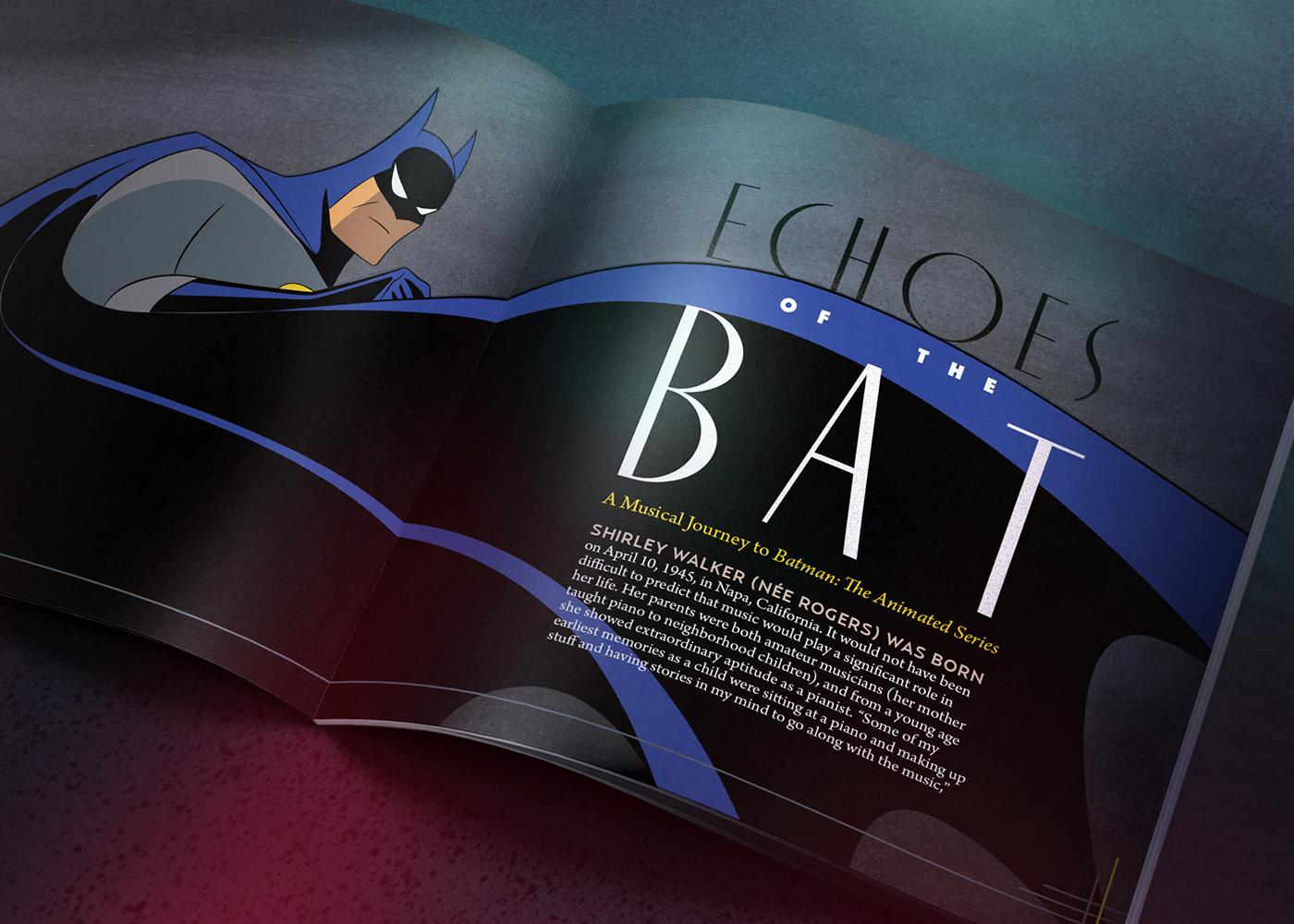 Batman The Animated Series Soundtrack Cd Vol 4 On Behance