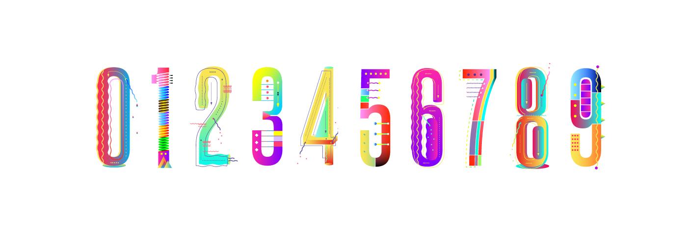 carioca Free font free tano yai colors experimental summer gradient color Fruit free type