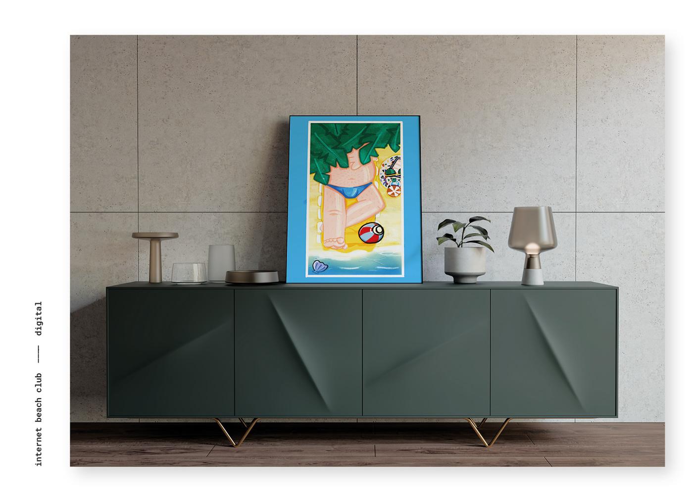 Image may contain: wall, furniture and cartoon