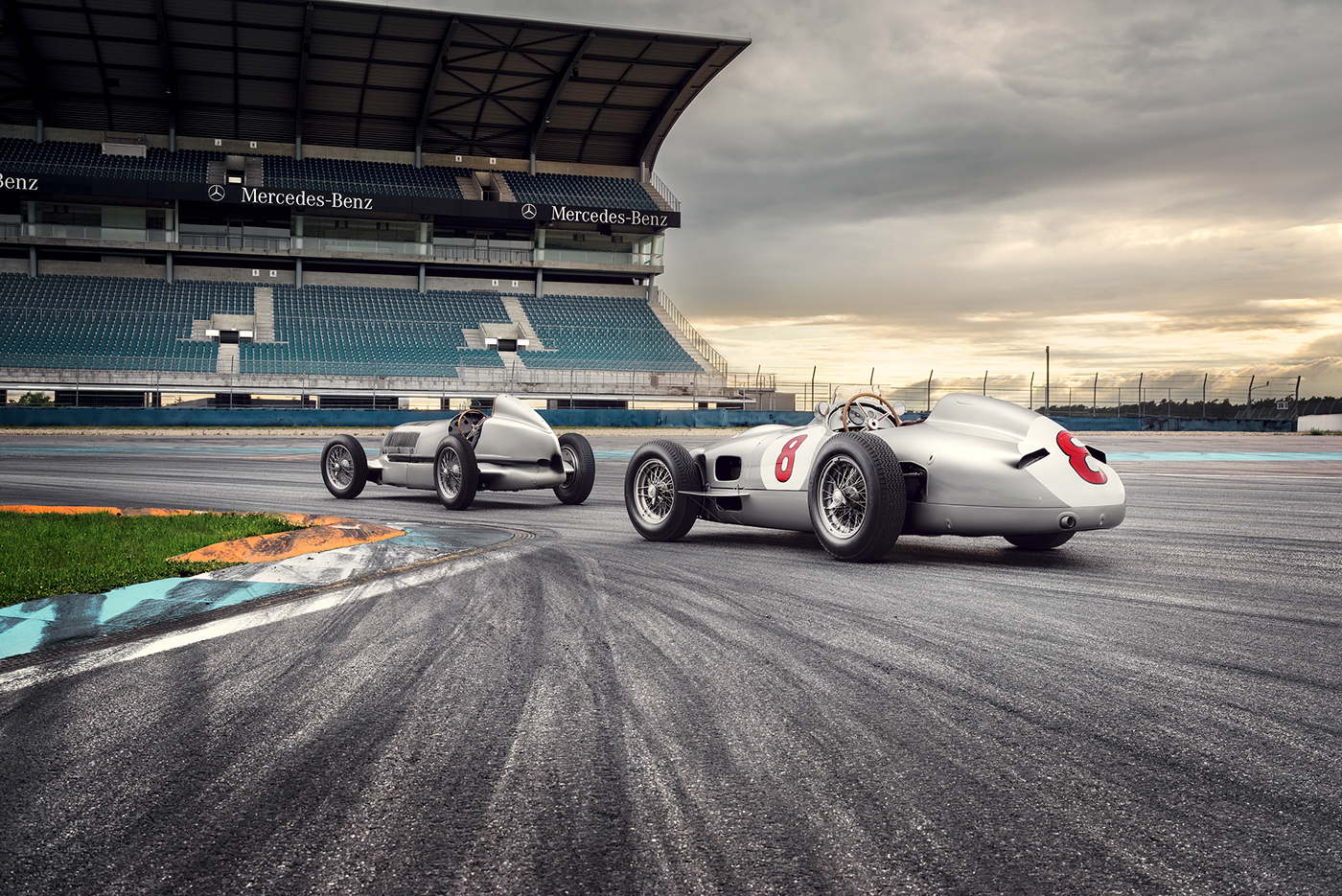 mercedes benz calendar postproduction Photography  Mercedes Benz AMG Motorsport Hockenheim