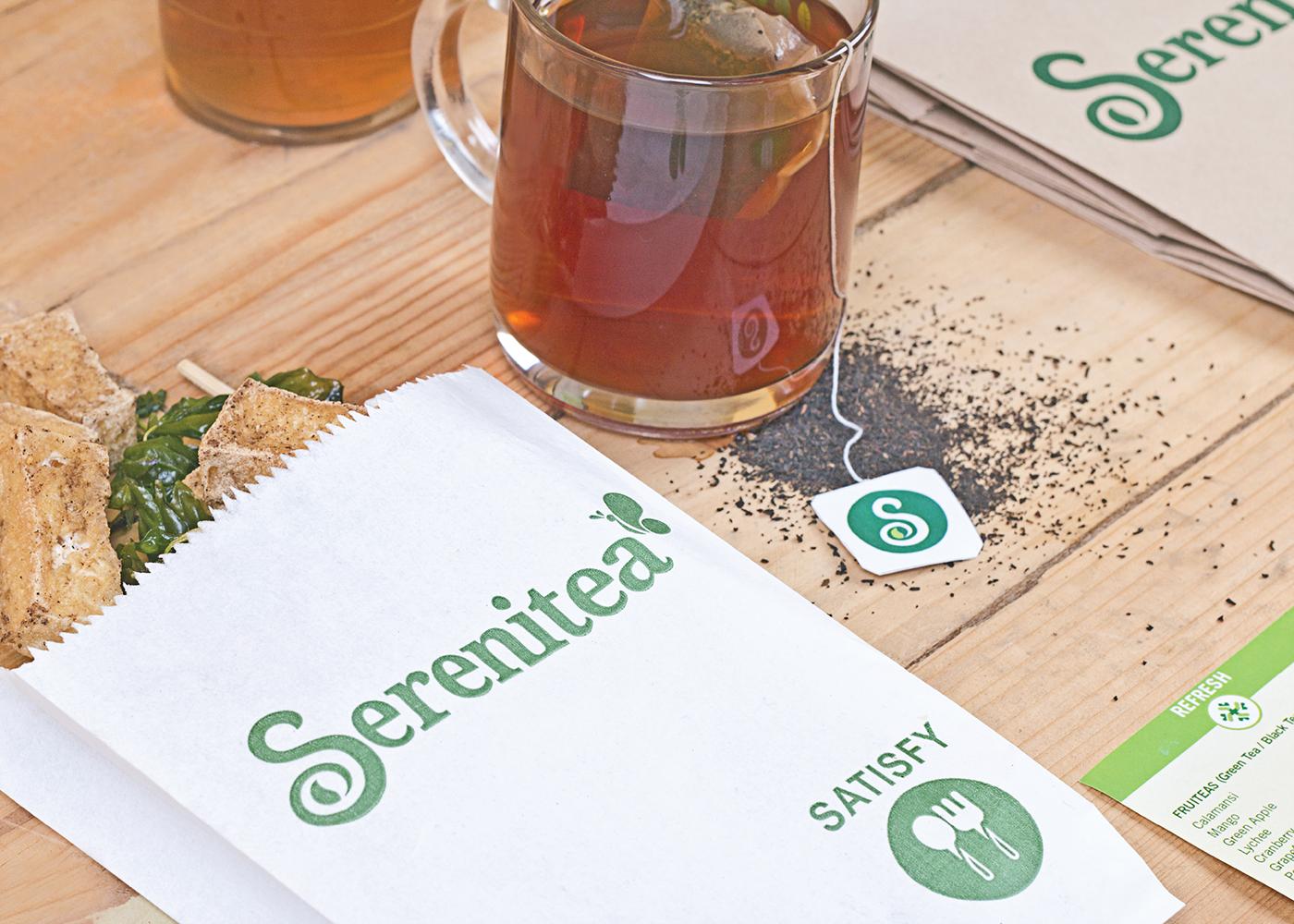 serenitea  rebranding  on behance