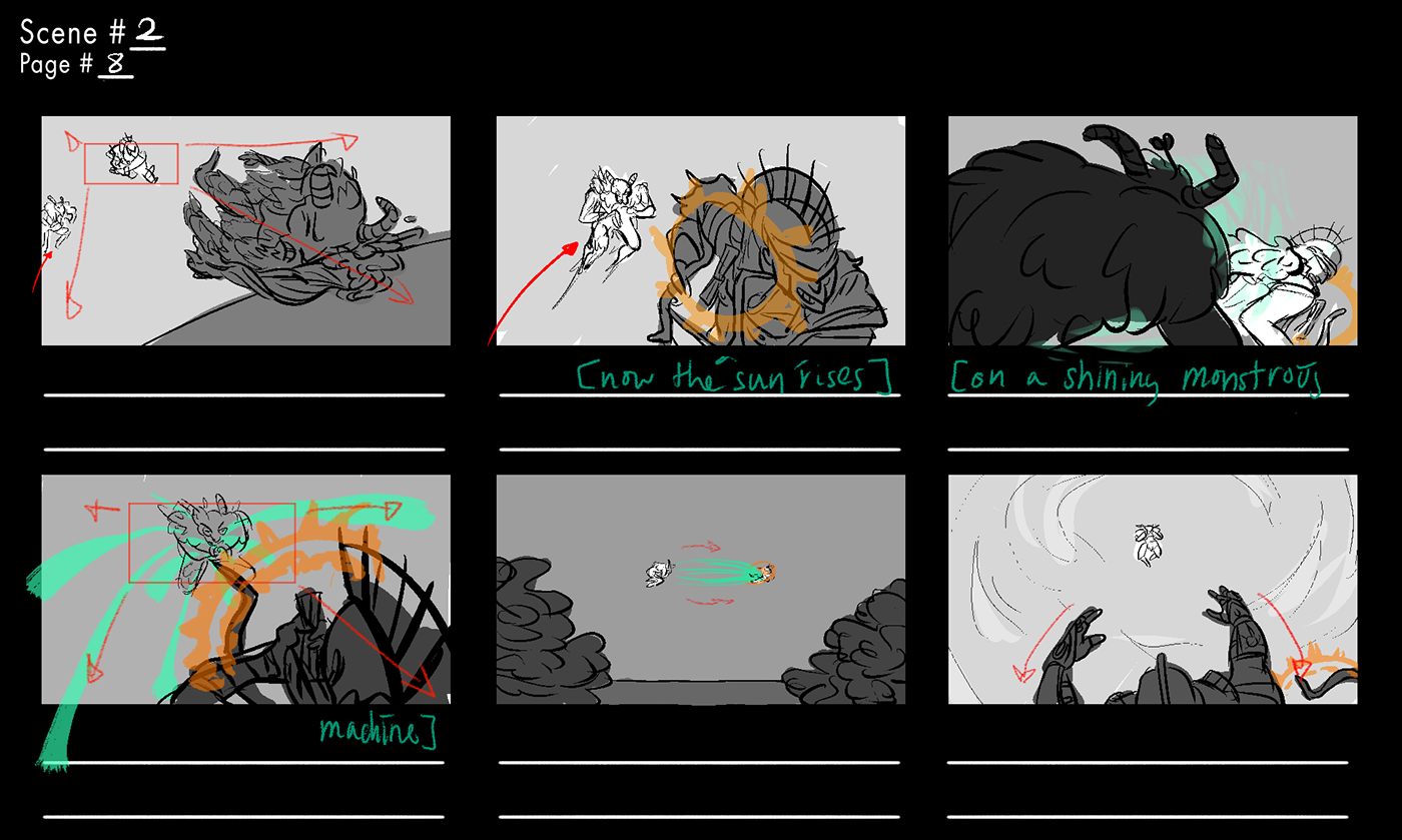 the friends of madame white snakes permadeath Storyboards opera