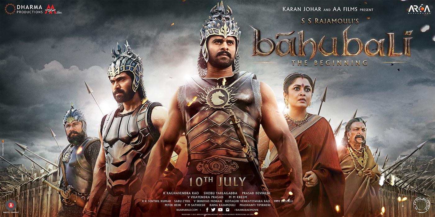 bahubali poster 4 on behance