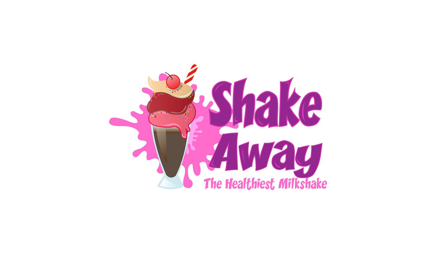 Milkshake Logo On Behance