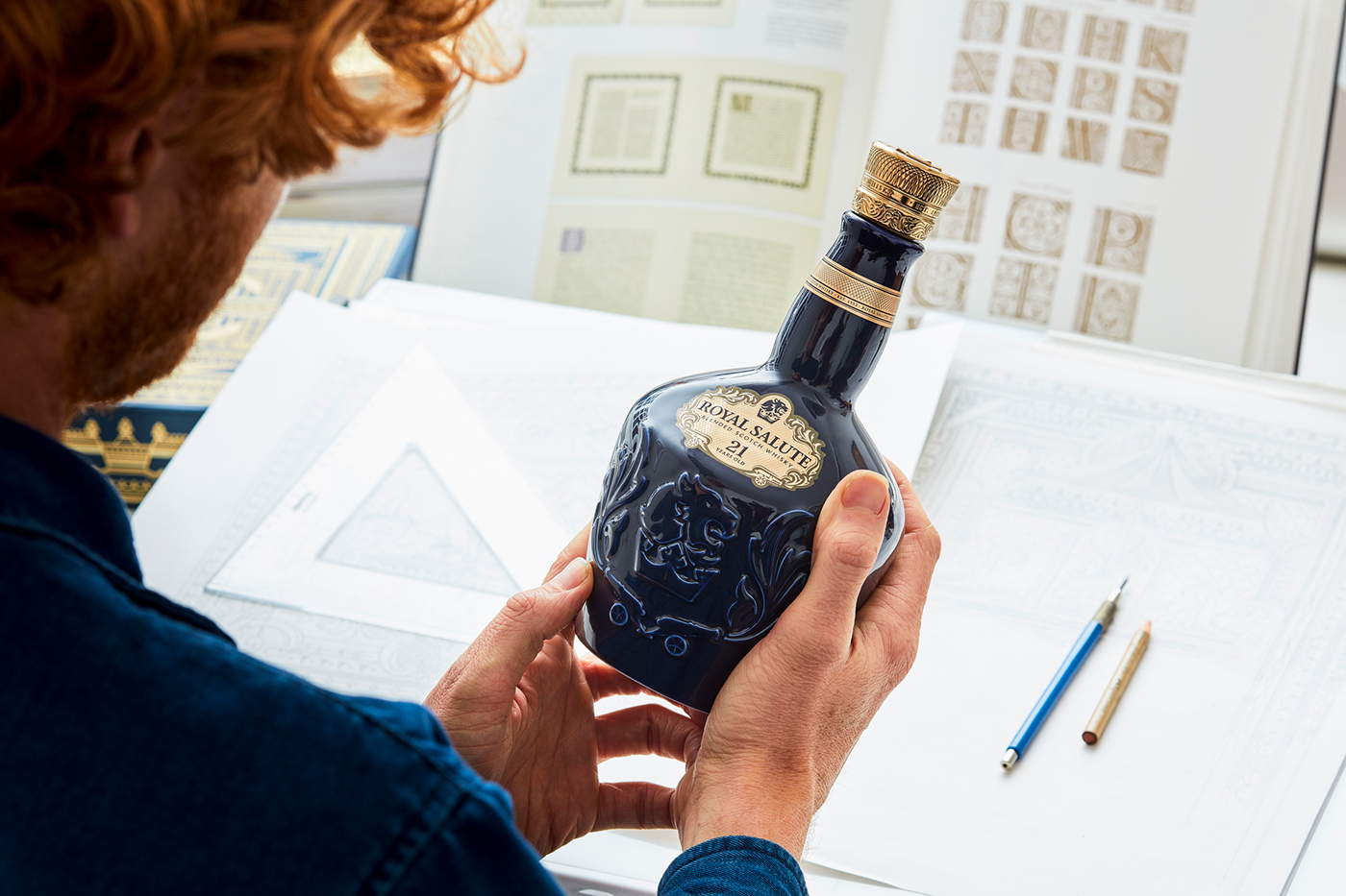 Packaging beverage Spirits Whisky decorative ornate luxury