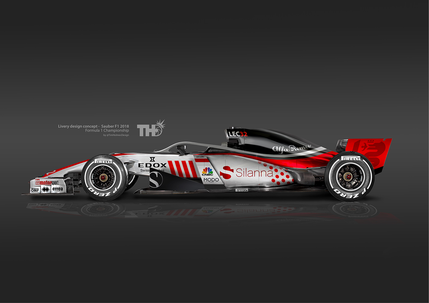 2018 F1 Concept Liveries on Behance