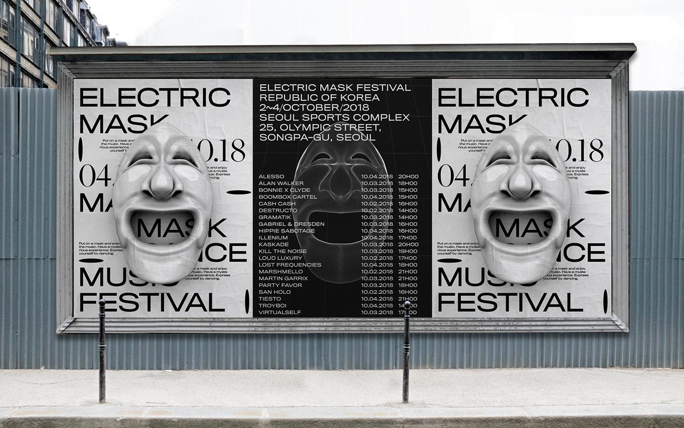 graphicdesign cinema4d 3D typography   festival branding  poster ArtDirection adobeawards