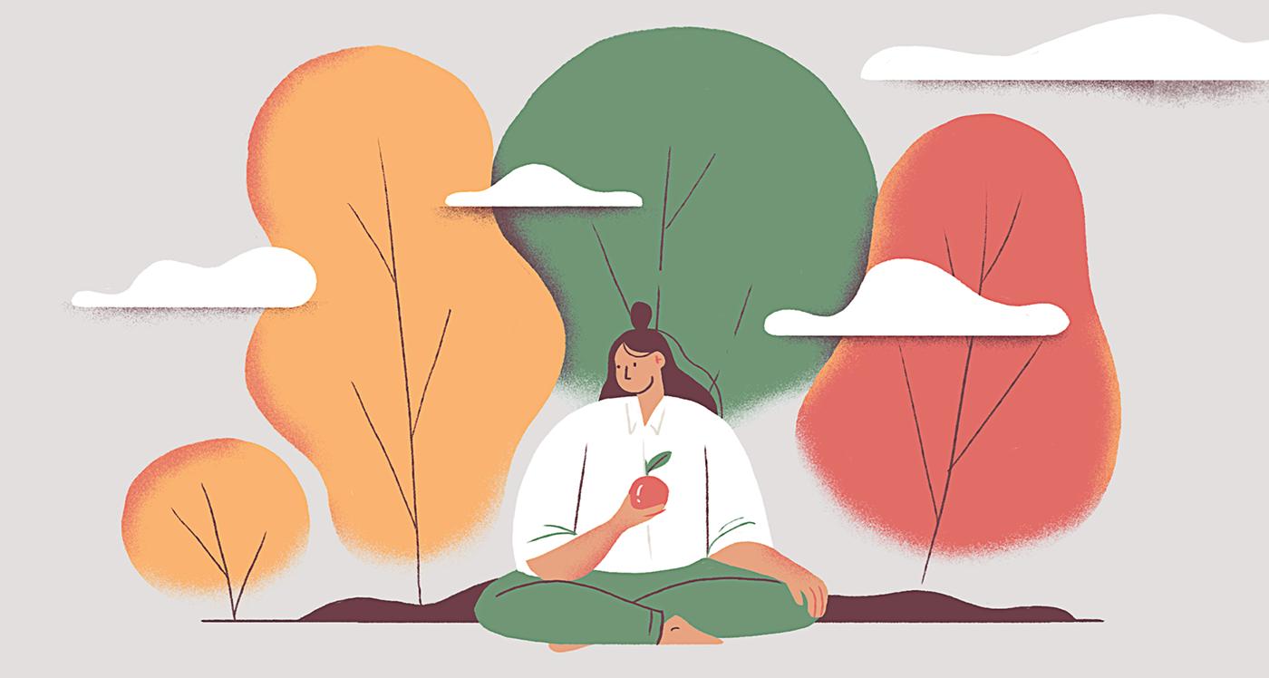 community freedom gardening growing lithuania meditation personal Plant Tree  trees