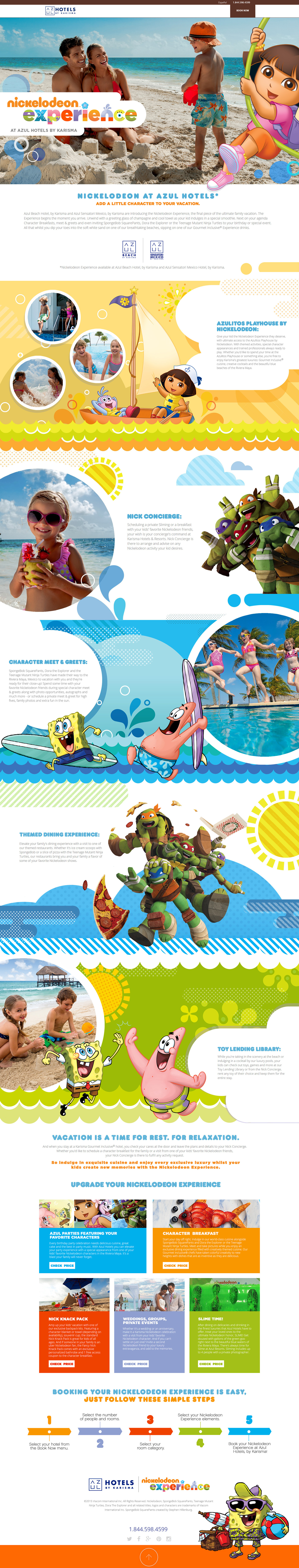Nickelodeon Experience on Behance