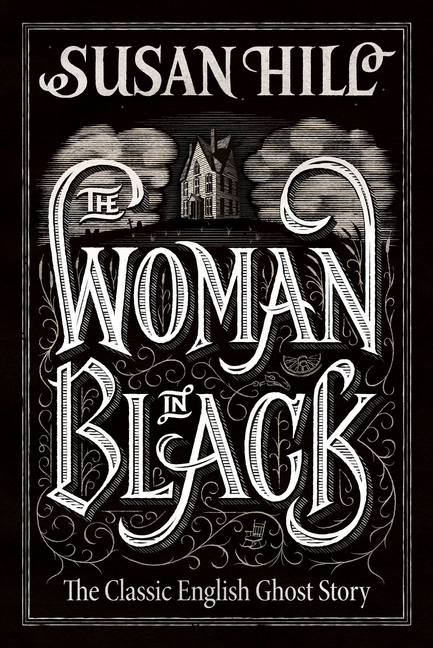 The Woman In Black Book Cover On Behance