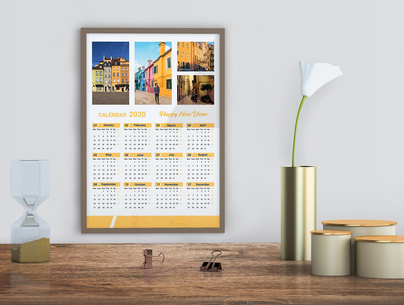 Free Download Calendar Template