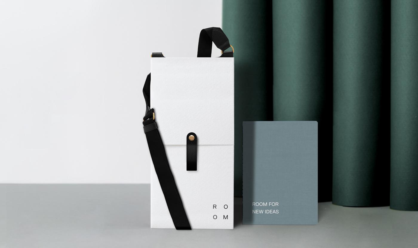 Sample box packaging for Room