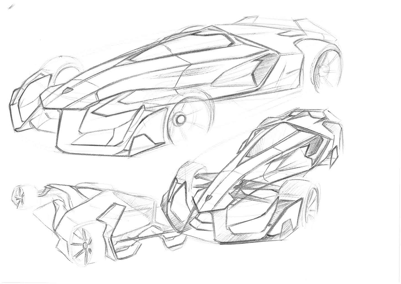 f1 sketch