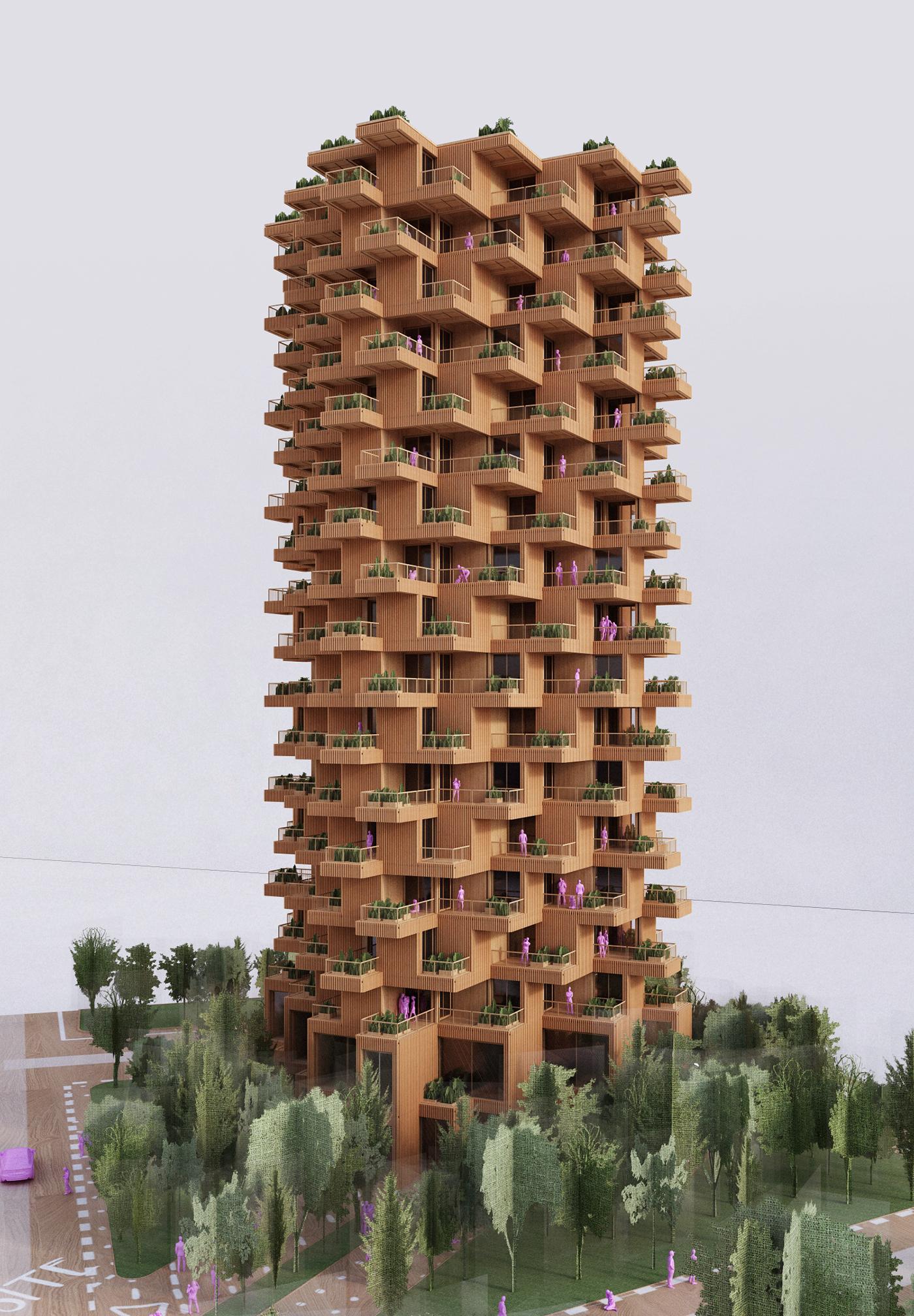 Toronto Tree Tower on Behance