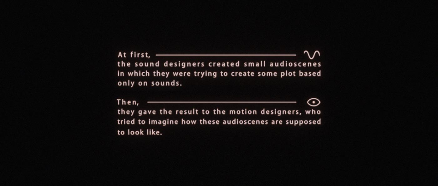 art art collaboration Collaboration Film   Motion Art motion graphics  Sound Design  sound designart