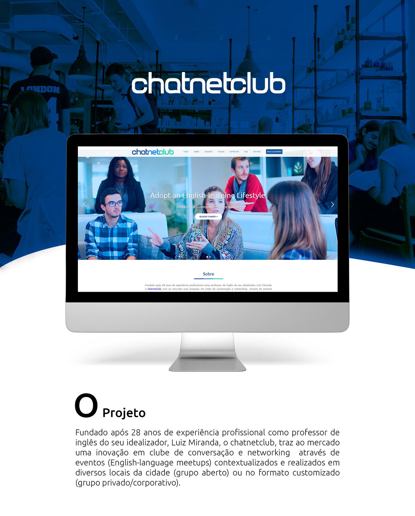 chatnetclub speakenglish carlosedu
