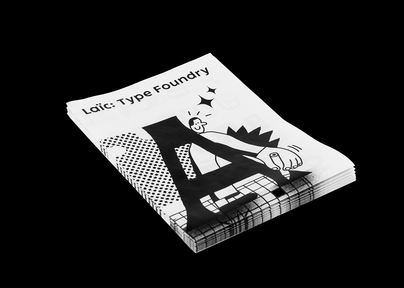 Laictype zgonowicz kamillach Drawing  letters typography   flyer printcontrol