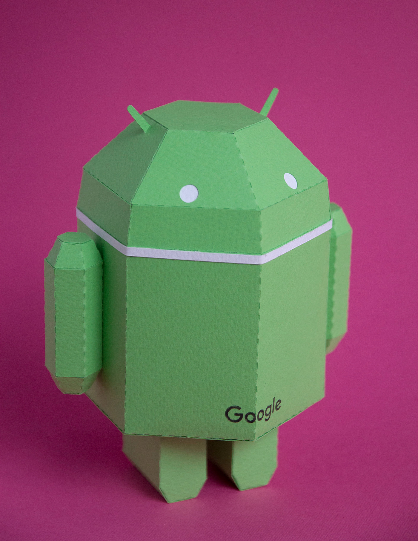 papercraft paperandroid android butdroid lowpoly google guardabosques