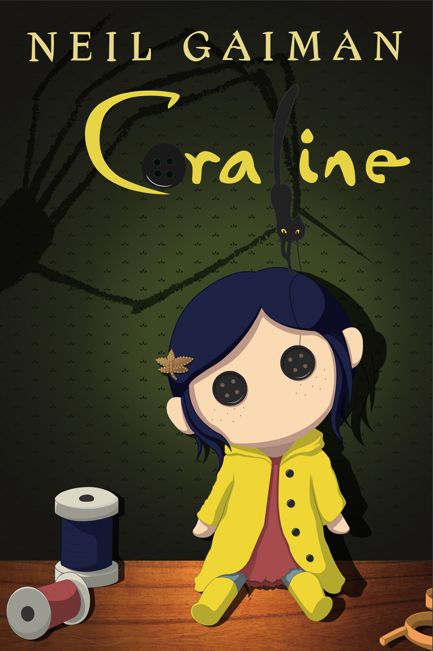 "book report for coraline My thoughts about coraline by neil gaiman (book review #9) ""fairy tales are  more than true: not because they tell us that dragons exist, but."
