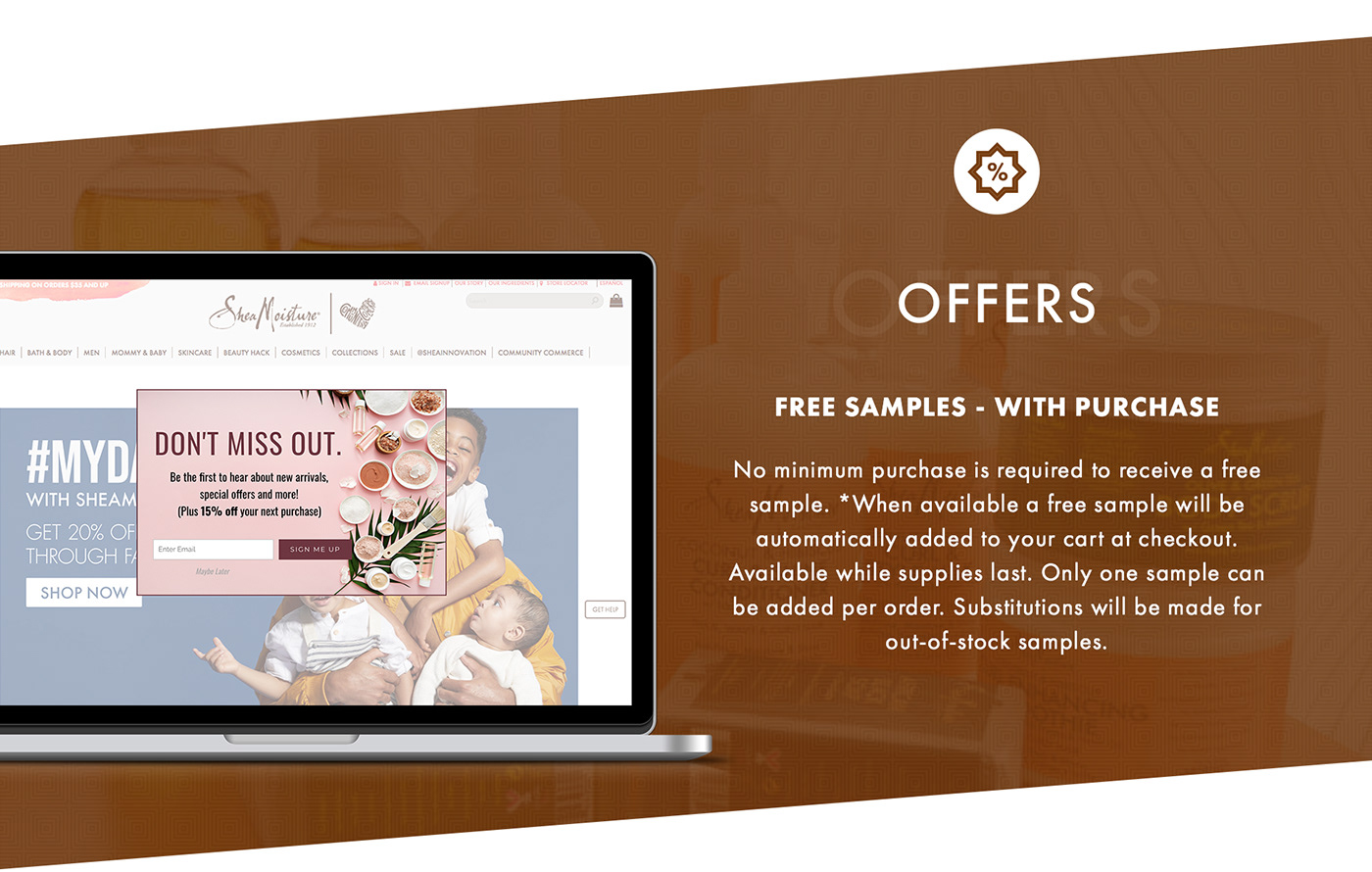 branding  Ecommerce magento ecommerce cosmetics products Web Design