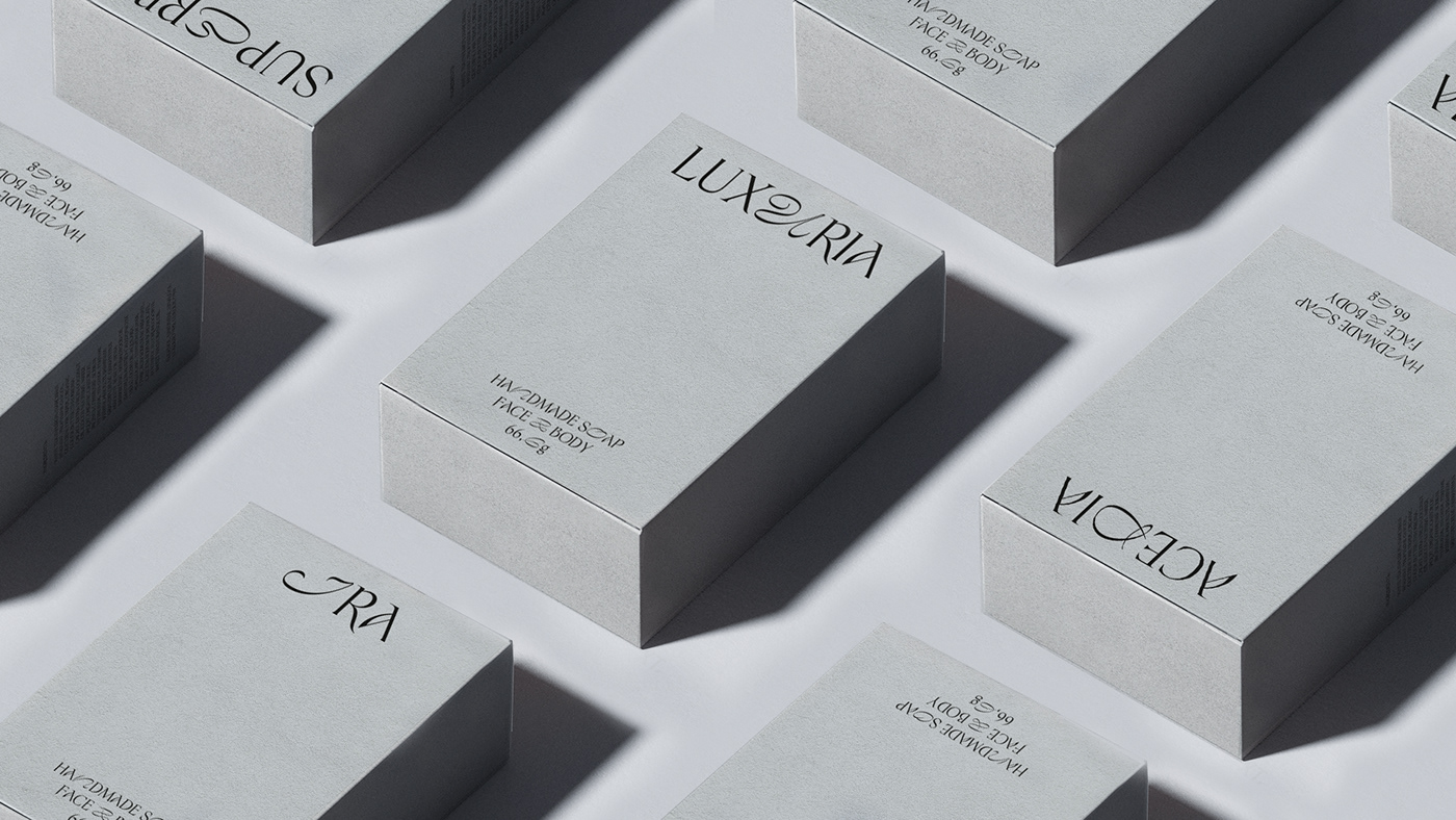 beauty branding  contemporary cosmetics graphic design  package design  Packaging skincare type typography