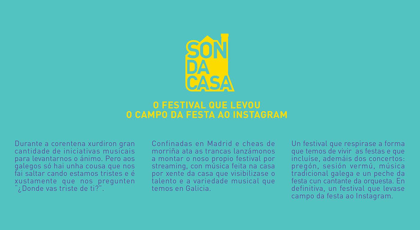 cuarentena Event festival galego Galicia music orquesta redes sociales social media Son da Casa