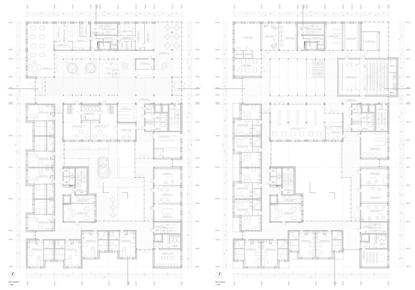 architecture diploma Education education center Elderly Design Elderly housing intergenerational senior home