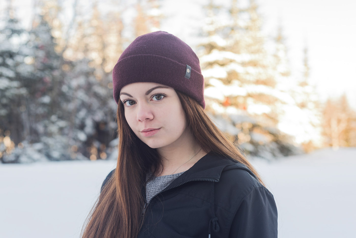 portrait naturel Massif Charlevoix bokeh girl art portrait art