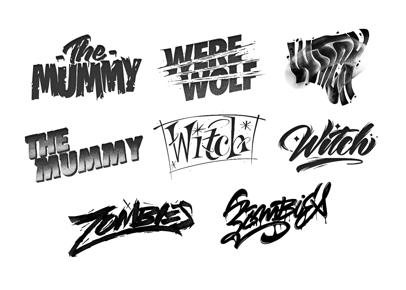 lettering Calligraphy   type design letters Procreate instagram
