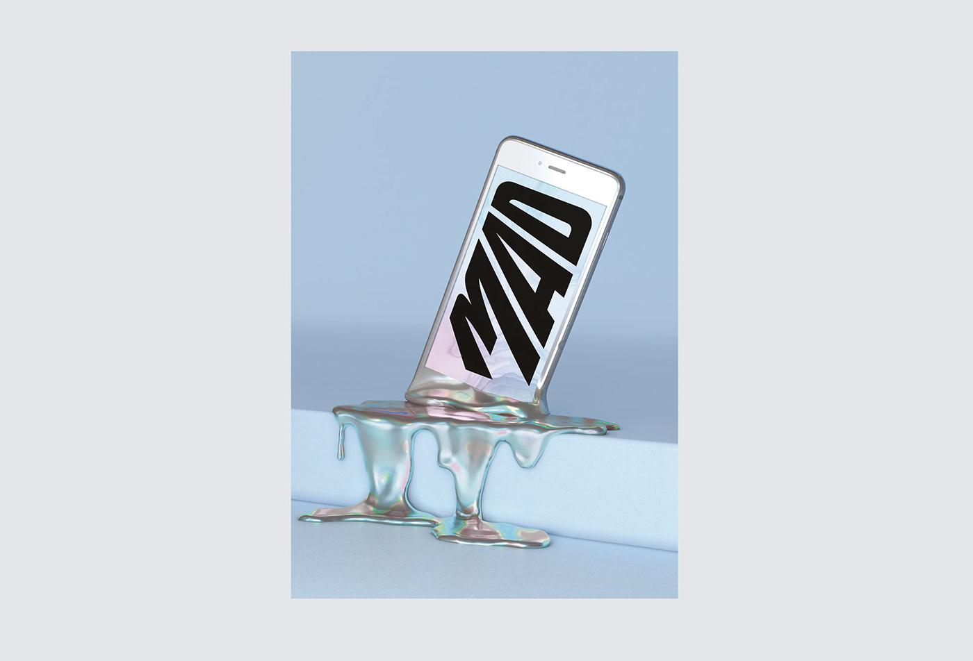 Fashion  media digital Viral Liquid brutal