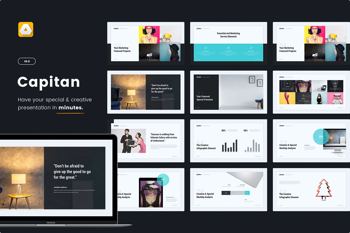 Notify - Animated & Creative Presentation Template (KEY) - 5