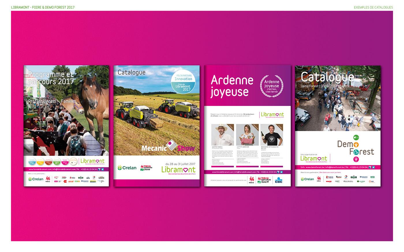 agricole,Libramont,evenement,Forestière,cheval,identité graphique