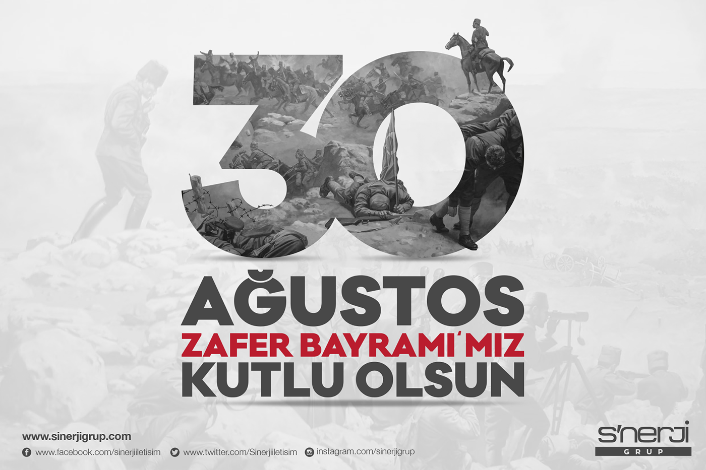 30 a u011fustos zafer bayram u0131    august 30  victory day on behance
